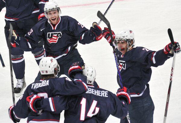 Игроки молодежной сборной США
