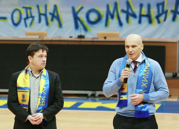 Андрей Воробьев (справа) и Дмитрий Голубков