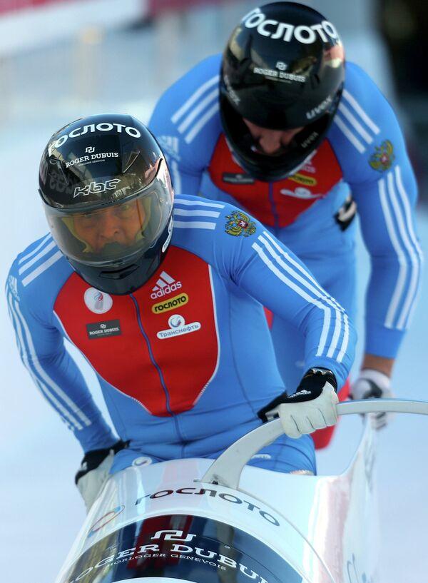 Александр Зубков и Дмитрий Труненков