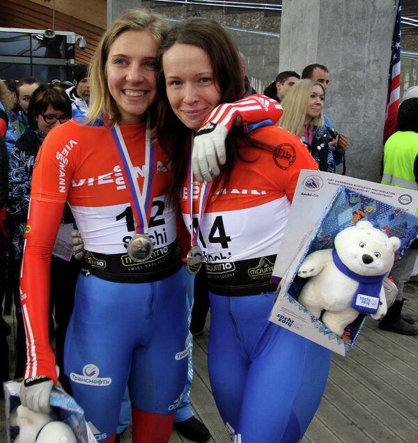 Мария Орлова (слева) и Ольга Потылицына
