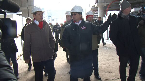 Каким будет новый стадион ФК Спартак: экскурсия по строящейся арене