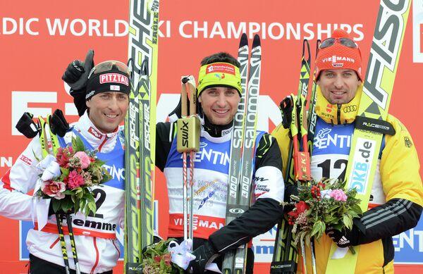 Марио Штехер, Джейсон Лами Шаппюи и Бьорн Кирхайзен (слева направо)