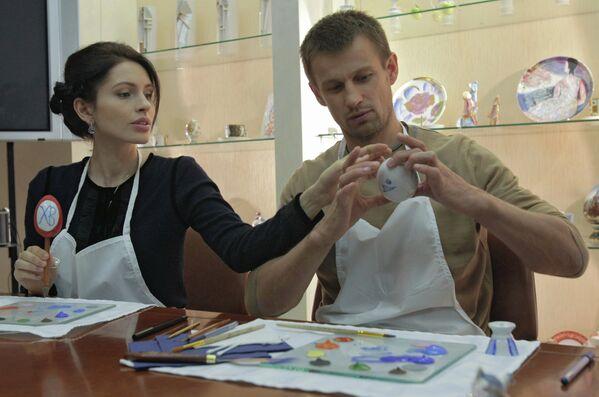 Сергей Семак с супругой Анной