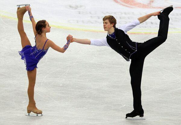 Камила Гайнетдинова и Иван Бич