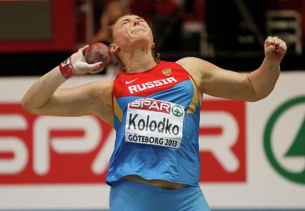 Россияна Евгения Колодко выиграла серебро на ЧЕ по легкой атлетике в помещении в толкании ядра