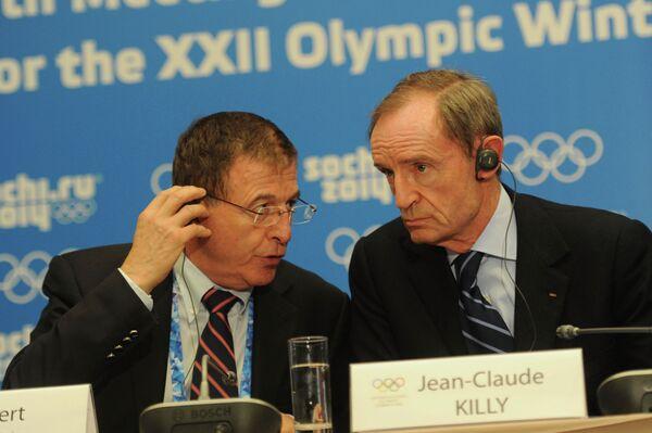Жильбер Фелли и Жан-Клод Килли (слева направо)