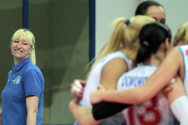 Главный тренер волейбольного клуба Динамо Светлана Илич