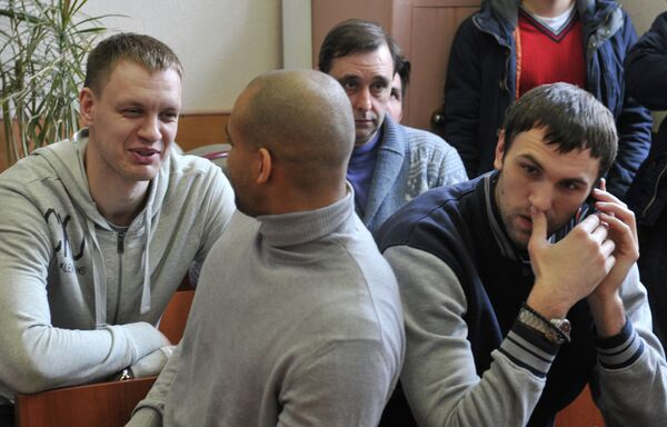 Заседание суда по иску экс-баскетболистов московского Динамо