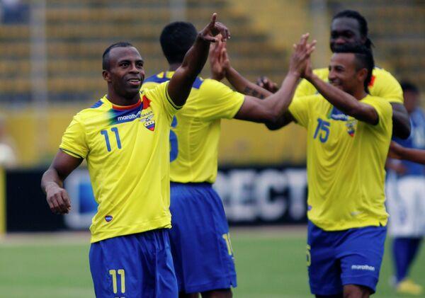 Футболисты Эквадора