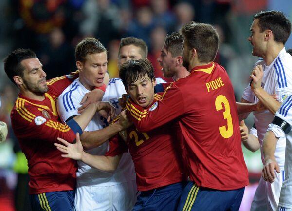 Испания-Финляндия