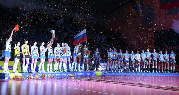 Волейболистки ЖВК Динамо
