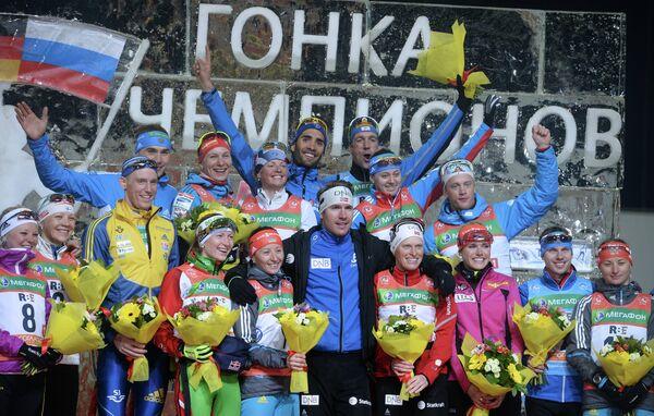 Победители и призеры Гонки чемпионов - 2013