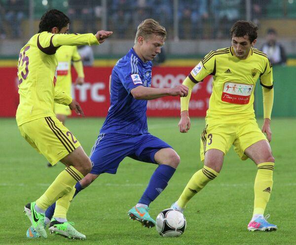 Одил Ахмедов, Павел Игнатович и Али Гаджибеков (слева направо)