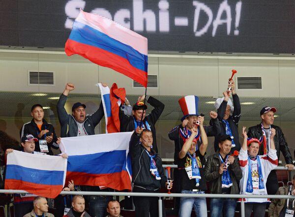 Хоккей. Юниорский ЧМ. Матч Чехия - Россия