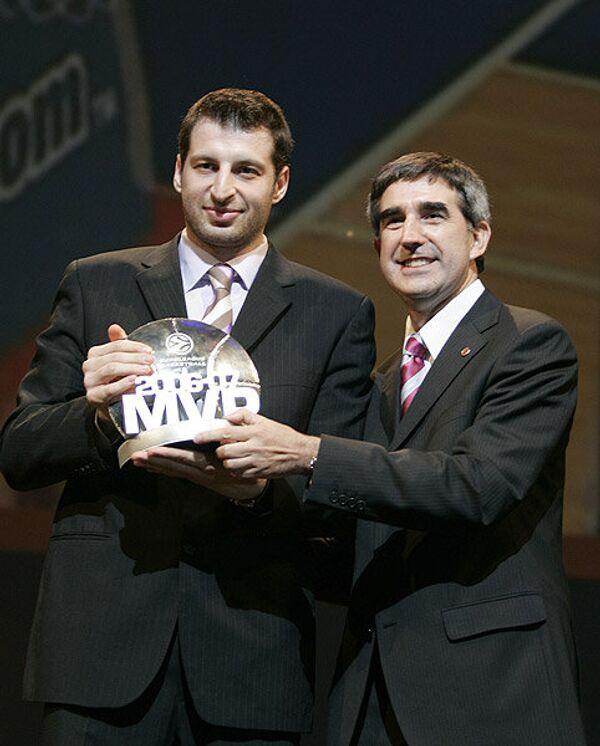 Тоедорас Папалукас и Жорди Бертамэу (слева направо)