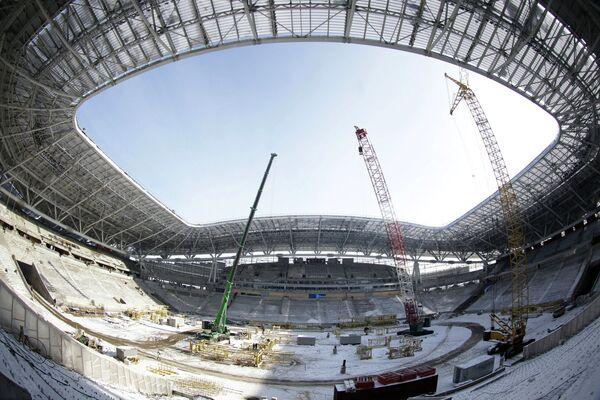 Строительство спортивных объектов Универсиады 2013