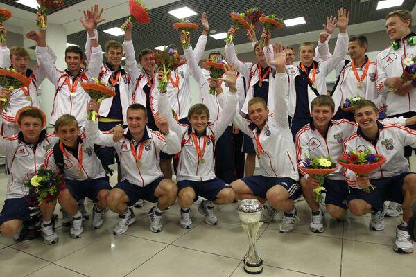 Игроки юношеской сборной России по футболу