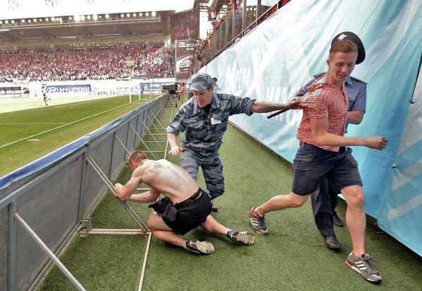 Футбол. РФПЛ. Матч ЦСКА - Кубань