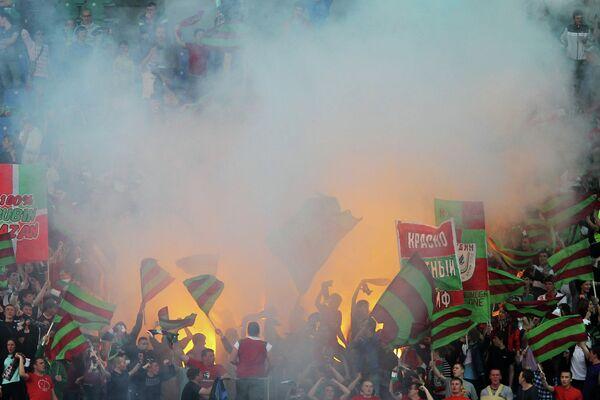 Болельщики ФК Рубин
