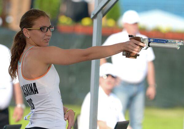 Российская спортсменка Екатерина Хураськина