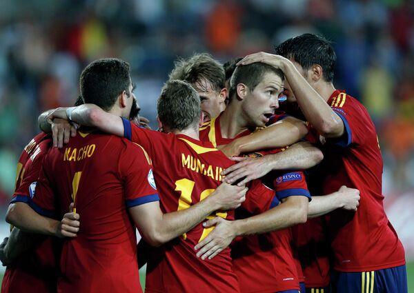 Футболисты молодежной сборной Испании