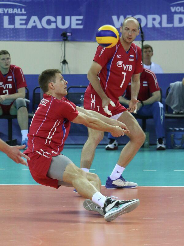Волейбол. Мировая Лига. Матч Россия - Сербия