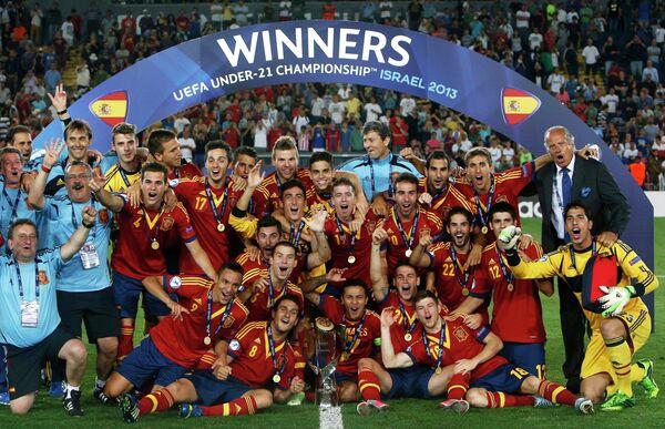 Футболисты Испании