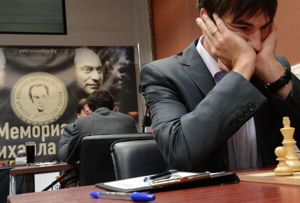 Российский шахматист Дмитрий Андрейкин