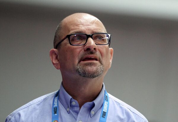 Главный тренер команды Италии Роберто Риччини
