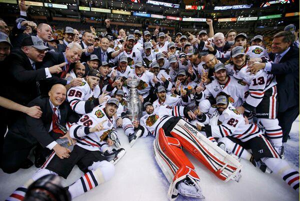 Команда НХЛ Чикаго Блэкхоукс