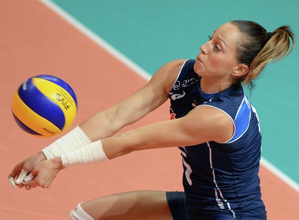 Российская волейболистка Виктория Чаплина