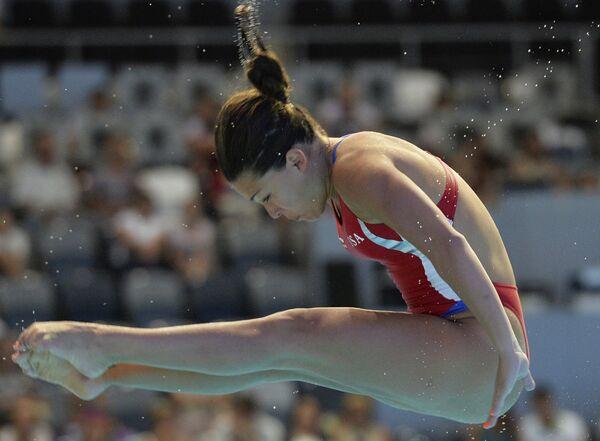 Соревнования по прыжкам в воду на Универсиаде