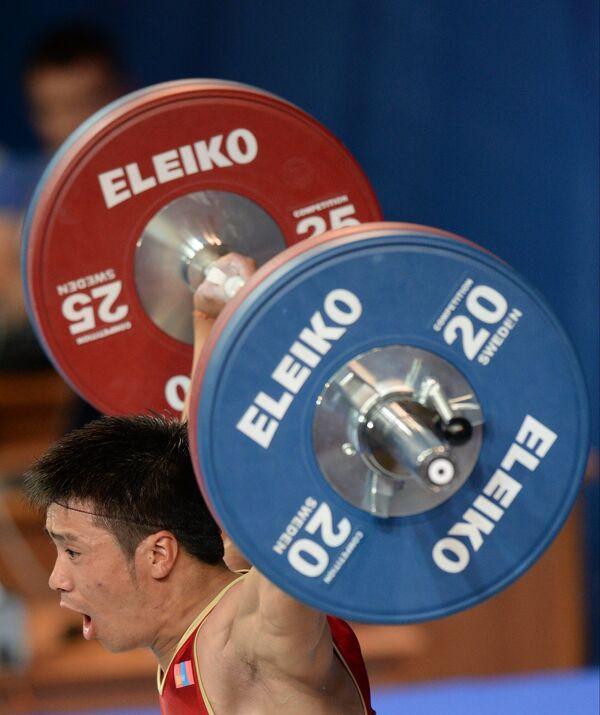 Соревнования по тяжелой атлетике на Универсиаде