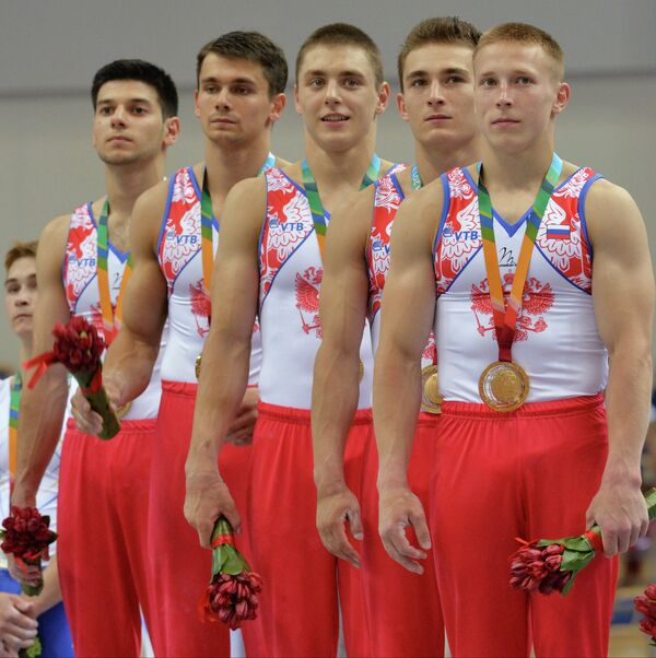 Универсиада. 3-й день. Спортивная гимнастика. Мужчины