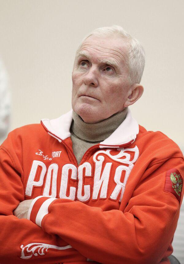 Олимпийский чемпион Александр Пашков на пресс-конференции