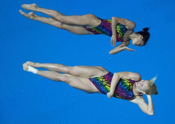 Женские прыжки в воду на Универсиаде