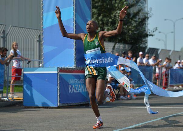 Победный финиш южноафриканца Сибабальве Мзази
