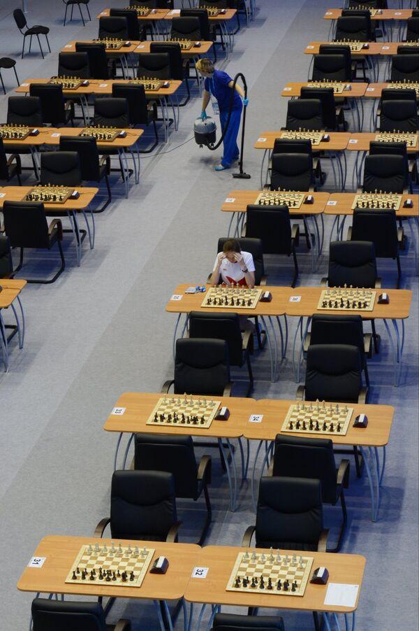Универсиада. 7-й день. Шахматы