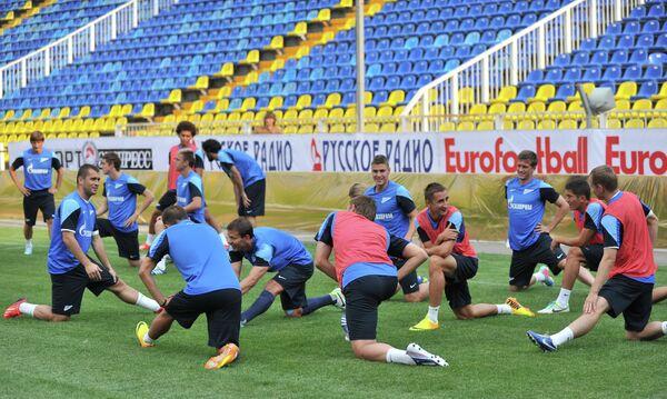 Тренировка Зенита в Ростове