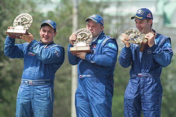 Вячеслав Мизюкаев, Андрей Аферин и Дмитрий Сотников (слева направо)
