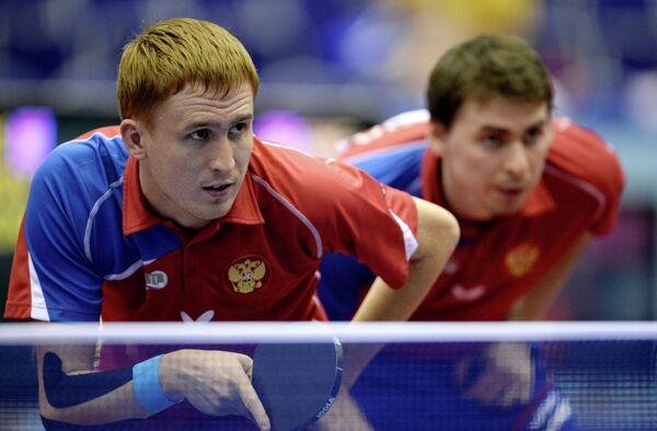 Вячеслав Буров (слева) и Кирилл Скачков