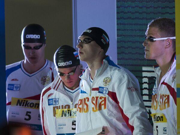 Мужская эстафетная сборная России по плаванию