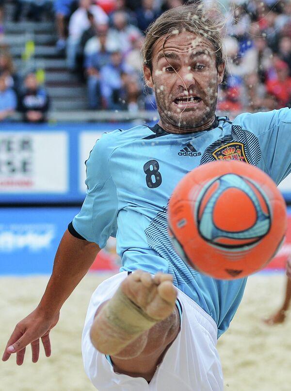 Игрок сборной Испании Даниэль Пахон