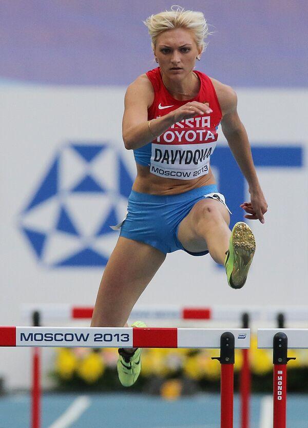 Россиянка Ирина Давыдова