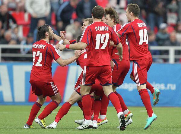 Футболисты Мордовии