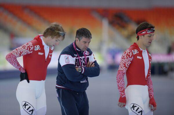 Евгений Лаленков (слева), Андрей Савельев и Дмитрий Лобков