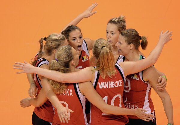 Волейболистки сборной Бельгии