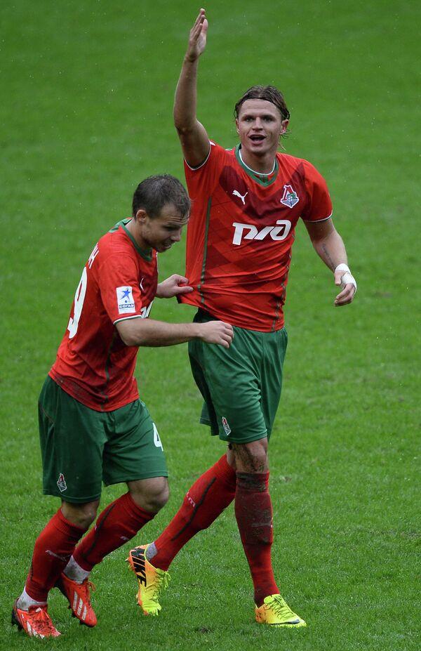 Роман Шишкин (слева) и Дмитрий Тарасов