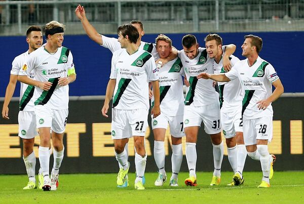 Футболисты Санкт-Галлена