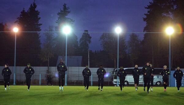 Футбол. Тренировка ФК Анжи